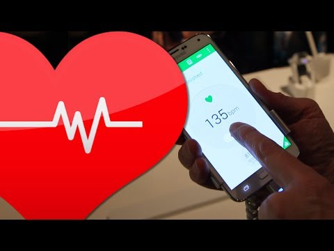 How the Samsung Galaxy S5 Measures Your Heart Rate